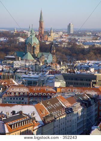 eine Übersicht über München, Deutschland
