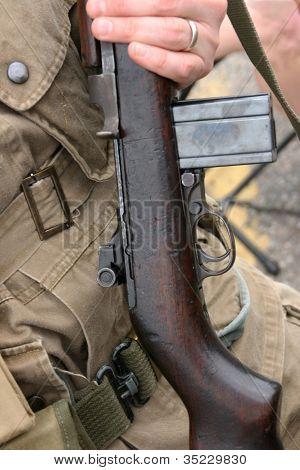 m 1 Karabiner Gewehr Soldat