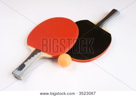 Sports Equipment For Table Tennis.