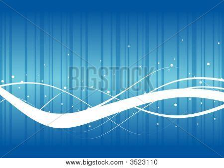 Fondo abstracto de la onda