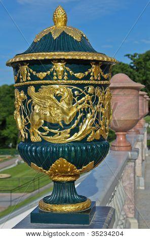 Vase, Peterhof, Petersburg