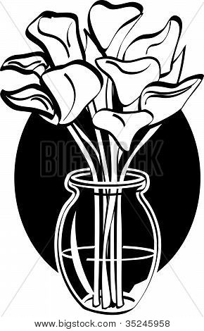 Lillies Or Lilly Flower Clipart