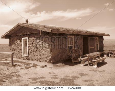 Antiga casa de cabine
