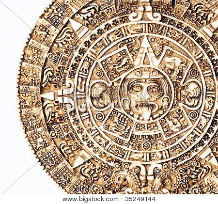 Aztec calendar.