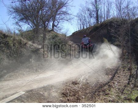 Riding The Atv Trails