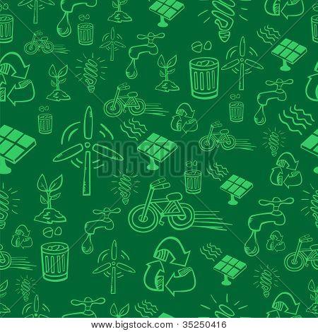 Green Alternative Energy Pattern