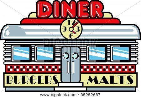 Diner Clip Art