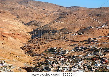 Petra, roca de la ciudad de Jordania