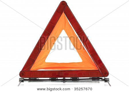 Warning sign triangle