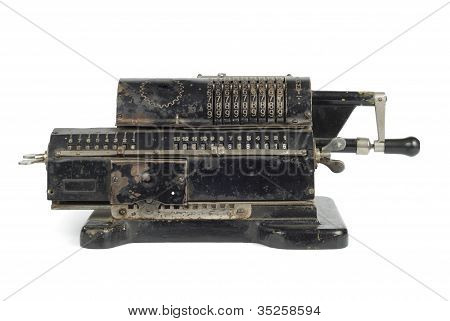 Mechanic Adding Machine