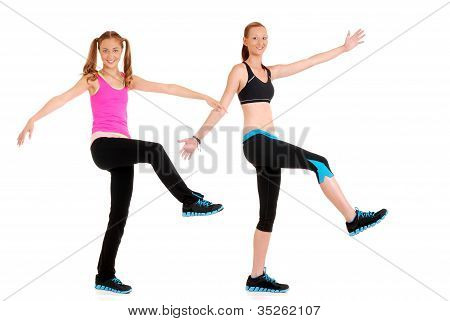fitness dance move
