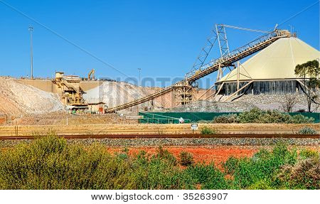 Working Mine ,Kalgoorlie,Austral ia