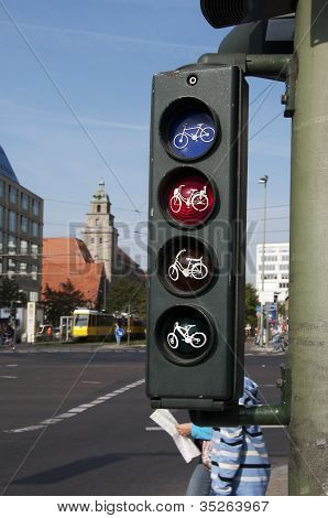 Traffic Lights For Bicycles
