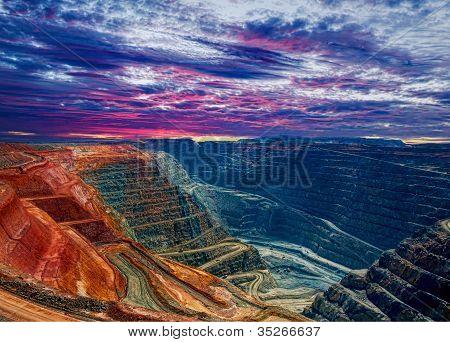 Super Grube Kalgoorlie Westaustralien
