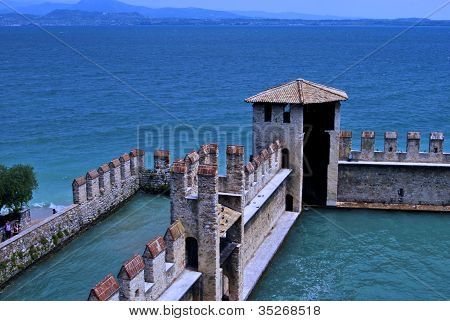 the Castle in Sirmione