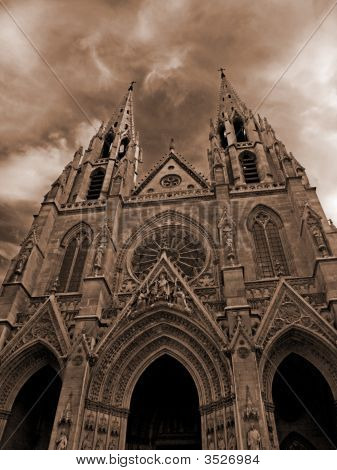 Paris - The Sainte-Clotilde Basilica