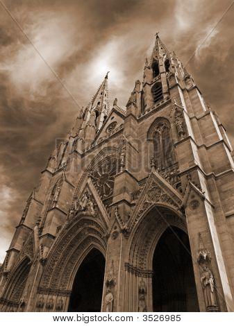 Paris - The Sainte-Clotilde Basilica