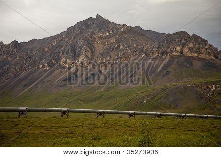 Oleoducto en Alaska