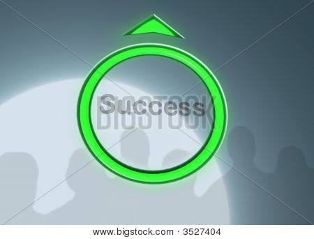 Button Of Success