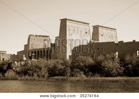 Philae temple Egypt