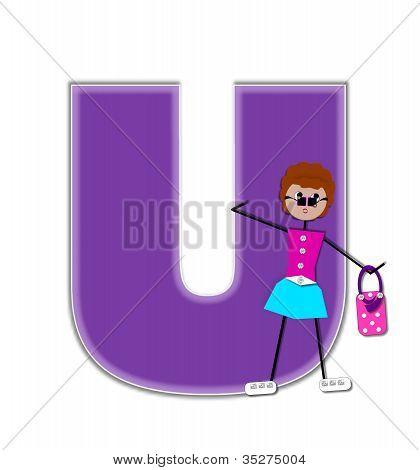 Alphabet Diva U