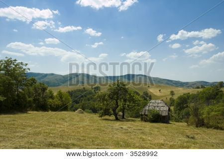 Rustic Mountain Scene