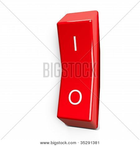 Red electric switch