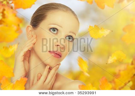 Autumn Beauty Girl