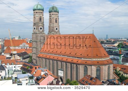 Frauenkirche Cathedral Church In Munich