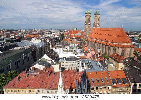 Frauenkirche Cathedral Church In Munich