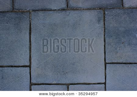 Grey Pavement Background