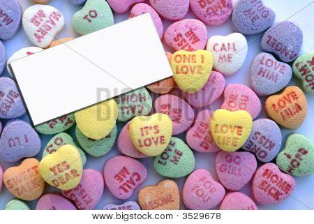 Valentine Love Heart Candy