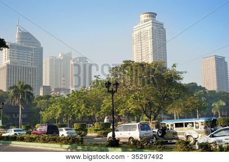 Metro Manila In The Morning