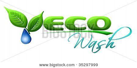 Eco wash Symbol