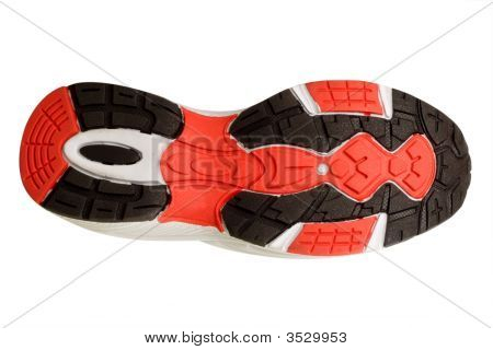 Sole Of A Sport Shoe
