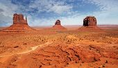 Landscape At Monument Valley