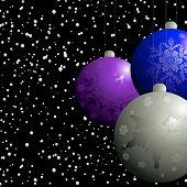 Christmas Balbels Flurry poster