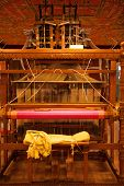 foto of handloom  - The weaver - JPG