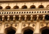 picture of charminar  - Details of 400 year old historic charminar monument in Hyderabad India - JPG