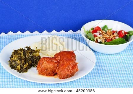 Country Style Meatballs