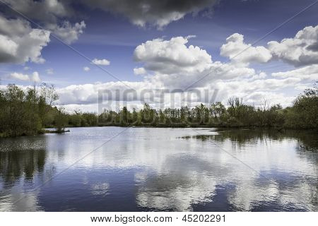 Lake At A Nature Reserve