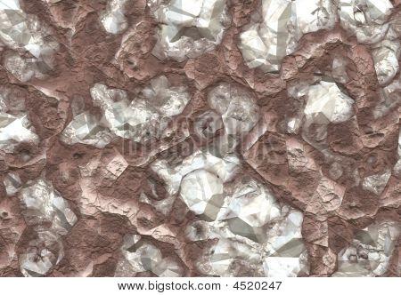 Diamond Stones Discovered Inside A Mine