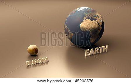 Europa And Earth