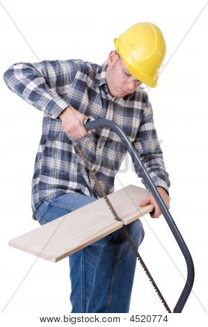 Craftsman With Saw