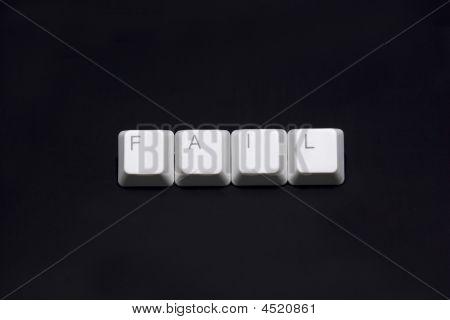 Business Sign Made Of Keyboard Keys