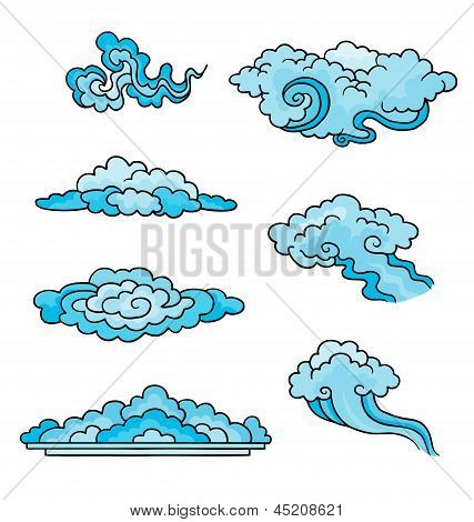 Decorative Clouds