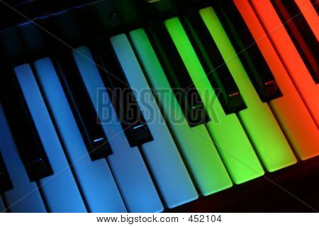 Colourful Piano