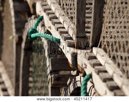 Lobster trap handles