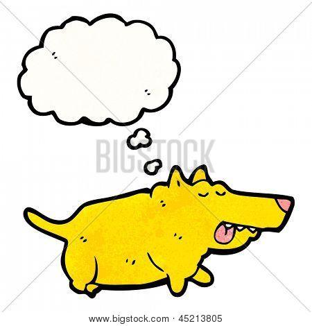 fat little dog cartoon