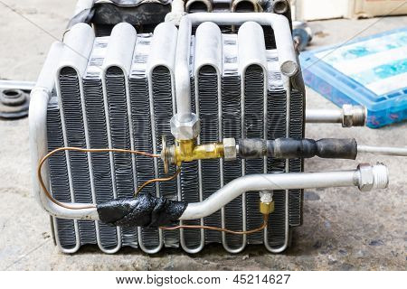 Compressed Air Car Components